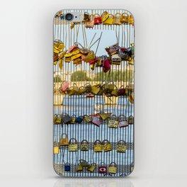Love padlocks - Paris, France iPhone Skin