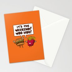 The Weekend Burger Stationery Cards