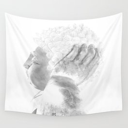 ZEN PLACES (right side) Wall Tapestry