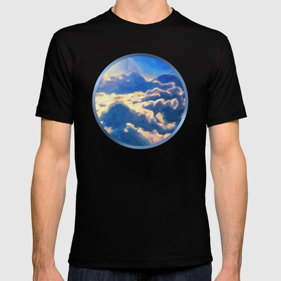 Over The Clouds - Painting Style T-shirt