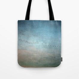 Toward The Sunset Tote Bag