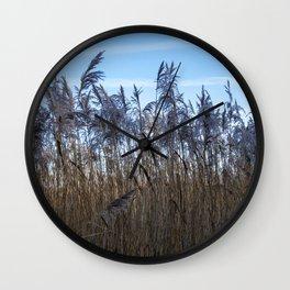 Amongst the Reeds Wall Clock