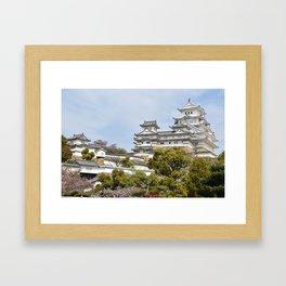 Himeji Castle in Japan Framed Art Print