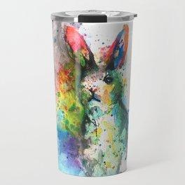 Bunny Splash Travel Mug