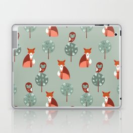 Fox Woods Laptop & iPad Skin