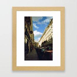 Paris in 35mm Film: Rue Malher in Le Marais Framed Art Print