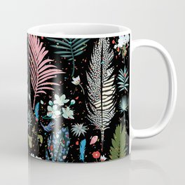 Magic Garden / Floral Pattern Coffee Mug