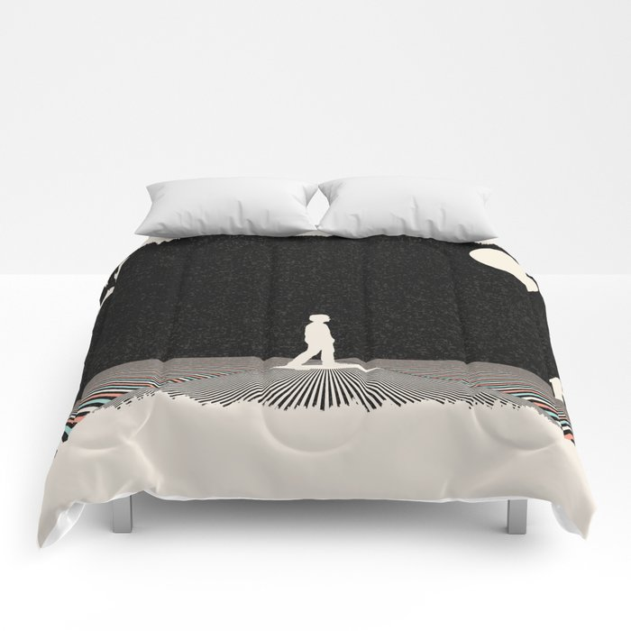 Finding Your Way Home Comforters