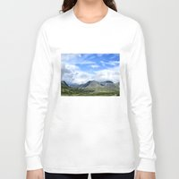 norway Long Sleeve T-shirts featuring Rondane - Norway by AstridJN