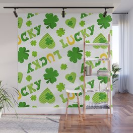 St. Patrick's Day EXTRA IRISH LUCK! Wall Mural