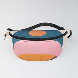 Abstraction_Sunshine_Minimalism_001 Fanny Pack