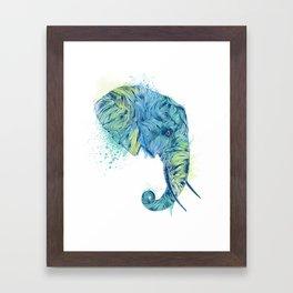 Elephant Head II Framed Art Print