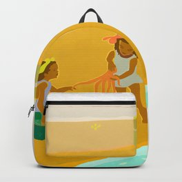 Moon Girls under the Sun Backpack