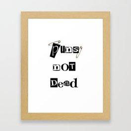 Pun Framed Art Print