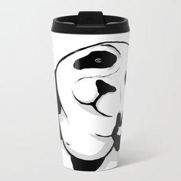 We Come in Peace... Metal Travel Mug