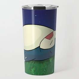 Snorlax Sleeping Travel Mug