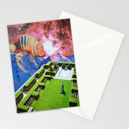 Mow the Lawn Stationery Cards