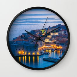 DUBROVNIK 07 Wall Clock