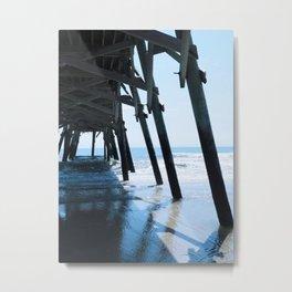Where the Sky Meets the Sand Metal Print