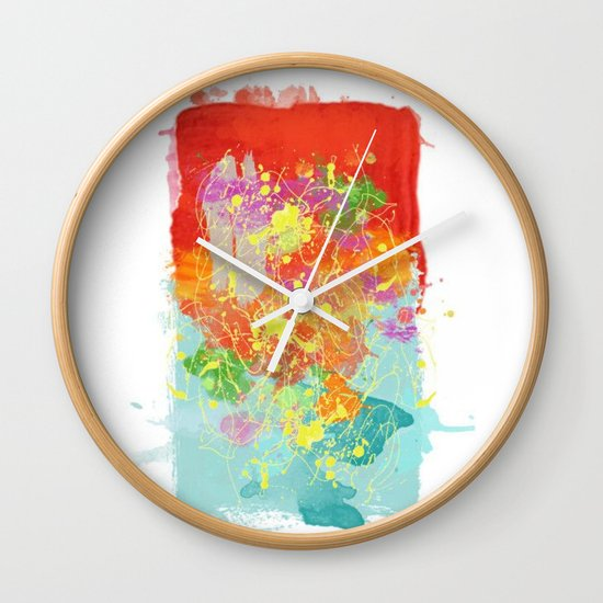 Color Tribute  Wall Clock