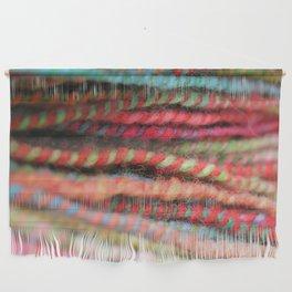 Handspun Yarn Color Pattern by robayre Wall Hanging