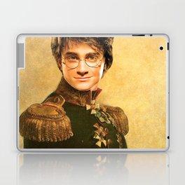 Harry General Portrait Painting | Fan Art Laptop & iPad Skin