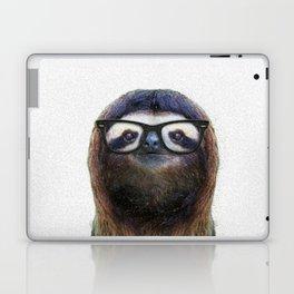 Hipster Sloth Laptop & iPad Skin