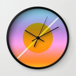 Verano I Wall Clock