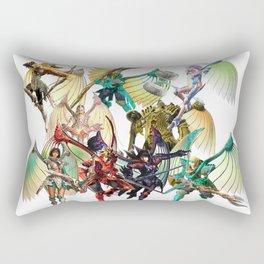 Legend of Dragoon Dragoons Rectangular Pillow