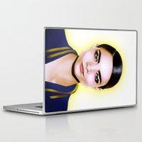 cara delevingne Laptop & iPad Skins featuring Cara Delevingne by BeckiBoos