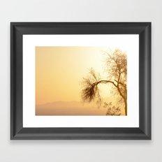 Overawed... Framed Art Print