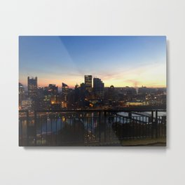 Pittsburgh sunrise Metal Print