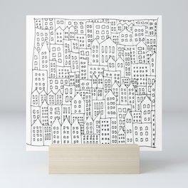 Coit City Pattern 1 Mini Art Print
