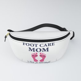 Foot Care Mom Pedicure Chiropodist Nail Salon Gift Fanny Pack