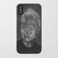 no face iPhone & iPod Cases featuring Face by hannoia