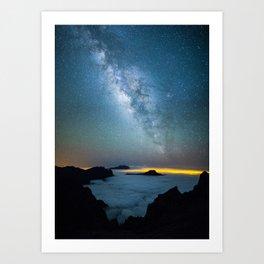 La Palma Milky Way Art Print