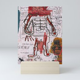 Mr Bones Mini Art Print