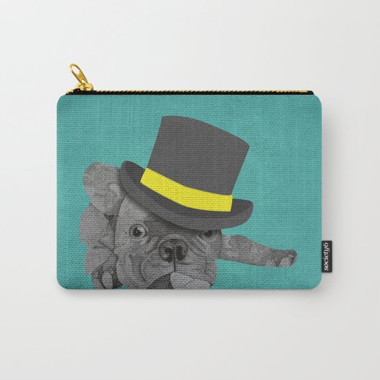 Dapper Dog - French Bulldog Carry-All Pouch