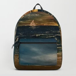 Oil  Painting Backpack