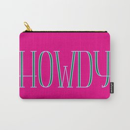 Howdy 03 Carry-All Pouch