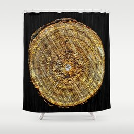 Log Shower Curtain