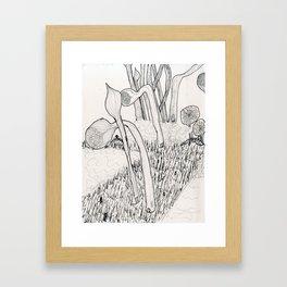 Biolandscapia Framed Art Print