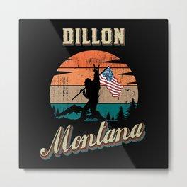 Dillon Montana Metal Print
