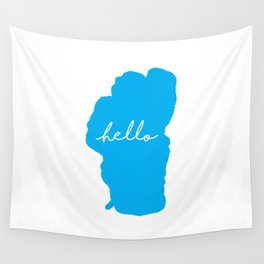 Hello Tahoe Wall Tapestry
