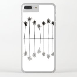 Palm Reflections II Clear iPhone Case