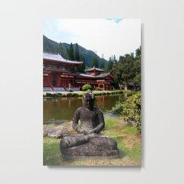 Peace. Love. Serenity Metal Print
