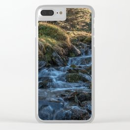 Elves' Trickle Clear iPhone Case