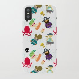 the crew (pattern version) iPhone Case