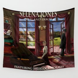 Selena Jones & Sherlock Holmes: Trial and Error Wall Tapestry