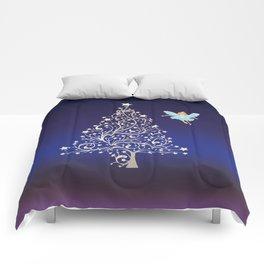 Sugarplum Fairy on Christmas Eve. Comforters